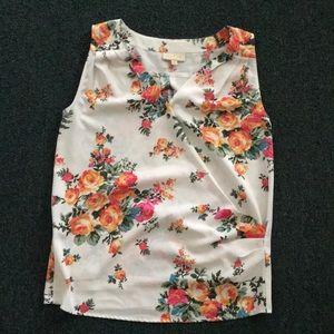 ModCloth Floral Top 🌸